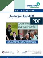 Service User Guide
