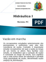 Hidráulica- Segunda Aula- Revisão