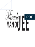 Miracle Man of JEE