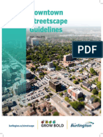 Downtown Streetscape Guidelines DSG May v01 2018 Draft