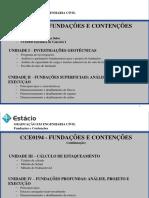 ESTÁCIO Fundações e Contenções