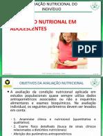 Aula 17 e 18 - Avaliação Nutricional de Adolescentes.pdf