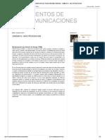 Fundamentos de Telecomunicaciones _ Unidad 5.- Multiplexacion