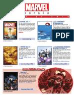 Boletín Marvel julio 2018