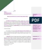 Modelo de Documentacion MLA
