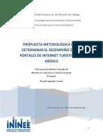 Propuesta Metodologica para un sitio web