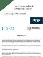 Nova Divisão de Bairros de Salvador - Informativo CIGEO (1)