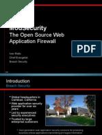 Mod Security Intro