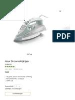 Koop Fer Vapeur 45G_min, Effet Pressing 160g GC4845_02 Online _ Philips Shop