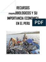 Recursos Hidrobiologicos y Su Importancia Economica en El Peru