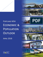 Portland MSA Economic & Population Outlook, April 2018