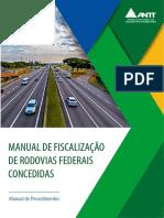 Manual de Fiscalizacao de Rodovias Concedidas