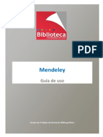 Manual Mendeley 4 Ed. (Noviembre 2017)