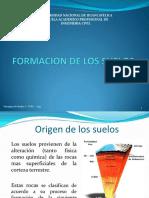 MECANICA DE SUELOS I 2 Formacion de los Suelos.pdf