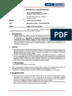 820994 Informe Sobre Comunicacion de Hallazgos Aud. Segatt