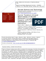 Aerosol Science & Technology Volume 21 Issue 4 1994 Allen, David T.; Palen, Edward J.; Haimov, Mitchell I.; Hering, -- Fourier Transform Infrared Spectroscopy of Aero