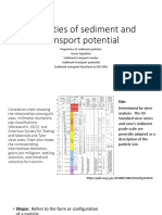 Properties of Sediment Particles