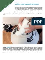 Innovative Filtermaterial Für Ihren Pool