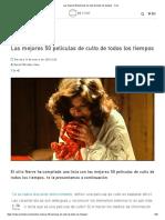 Las Mejores 50 Películas de Culto de Todos Los Tiempos - Cine