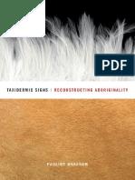 Pauline Wakeham-Taxidermic Signs_ Reconstructing Aboriginality-Univ of Minnesota Press (2008)