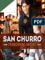 San Churro Franchising Info Kit
