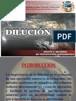 DILUCIÓN