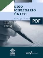 Codigo Único Disciplinario - Ley 734 de 2002