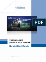 Datavideo TVS-Virtualset Maker English
