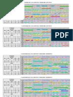 Calendário de Lançamentos 1º Bimestre