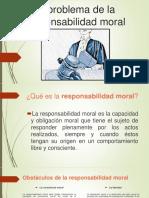 El Problema de La Responsabilidad Moral