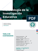 metodología de la investigación educativa