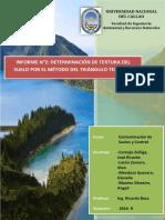 2. Informe de Determinación de Textura Del Suelo Por El Método Del Triángulo Textural