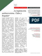 FINAL Evolucion de La Legislacion Antiterrorista Chile y Espana