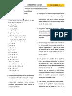 01_Ejercicios Para Ecuaciones e Inecuaciones
