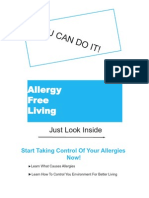 Allergy Free Living ...You Can Do it!