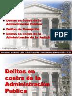 Delitos Contra Adm. Publica