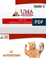Sesión 3 - Autoestima PPT UMA