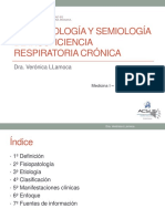 Clase de Insuf. Respiratoria Cronica