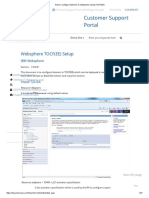 How to Configure Listeners in Websphere Using TOCF(EE)