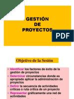 Gestion Proyectos Tacna 2018