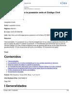 Urrutia, Leopoldo - Vulgarización Sobre La Posesión Ante El Código Civil Chileno
