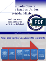 DS 160 Powerpoint Spanish 001