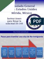 DS 160 Powerpoint Spanish 001