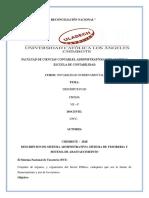 Descripcion de Sistema Administrativo Sistema de Tesoreria y Sistema de Abastaecimeinto