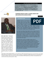 DMA Capital Africa Finance Series - Sovereign Wealth Funds Global Insight for African States