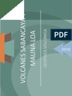 Sabancaya - Mauna Loa