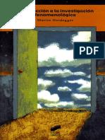 250164742 Heidegger Martin Introduccion a La Investigacion Fenomenologica (1)