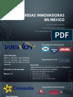 5 Empresas Innovadoras en México
