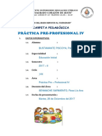 Caratula de Carpetas Pedagogicas
