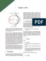 Kepler Orbit